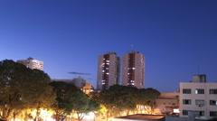 City view. Time-lapse. Foz do Iguaçu, Parana, Brazil. Stock Footage