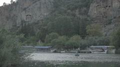 Boat Dalyan Stock Footage