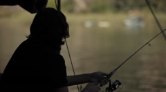 Fishing Dalyan Stock Footage