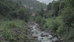 River rize Stock Footage