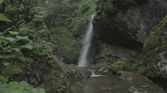 Rize waterfall Stock Footage