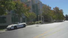 Apple Campus in Cupertino, California Stock Footage
