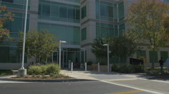Buildings in the Apple Campus in Cupertino Stock Footage