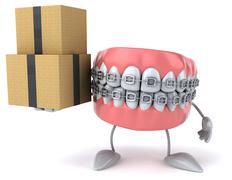 Fun teeth Piirros