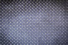 Diamond steel plate background - stock photo