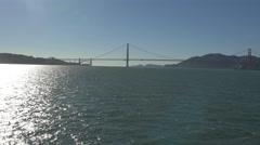 Amazing 4K view of Golden Gate Bridge Stock Footage