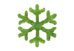 Stock Illustration of Green snowflake