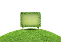Stock Illustration of Grass frame