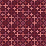 Fashion marsala vector seamless pattern. Endless texture Stock Illustration
