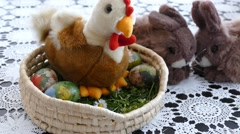Preparing For Easter 10 Stock Footage