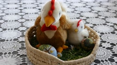 Preparing For Easter 12 Stock Footage