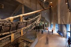 STOCKHOLM - JANUARY 6: 17th century Vasa warship salvaged from  sea at museum Stock Photos