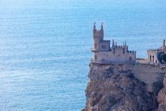 view of the Swallow's nest lock - stock photo
