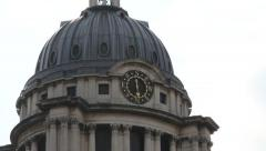 Greenwich Campus is located in the old Royal Naval College, - stock footage