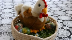 Preparing For Easter 7 Stock Footage