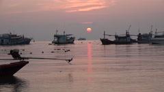 Koh Tao Sunset 25 - stock footage