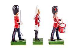 Regiment of tin guards Stock Photos