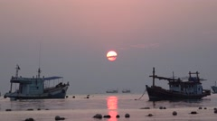 Koh Tao Sunset 7 Stock Footage