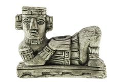 Aztec Chac Mool - stock photo