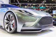 Hyundai Genesis Coupe, HND-9 Venace Concept Stock Photos