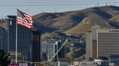 Salt Lake City Flag Stock Footage