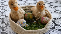 Preparing For Easter 1  Stock Footage
