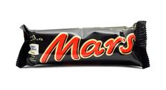 Wrapped Mars candy bar Stock Photos