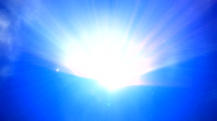Aura light 5 - stock footage