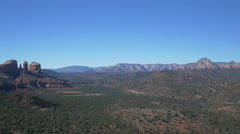 Stock Video Footage of Panoramic 4K view of Red Rock State Park, Arizona