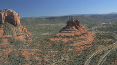Bell Rock in Sedona, Arizona Stock Footage