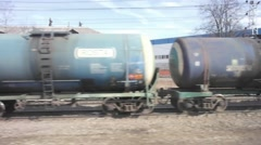 Cisterns. Speed-up survey Stock Footage