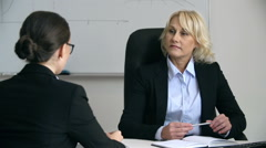 Business Briefing Stock Footage