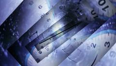 01 time travel lines PS FR Stock Footage