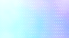Light blue dot pattern seamless background video Stock Footage