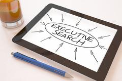 Stock Illustration of Executive Search