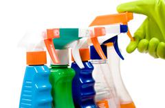 Set for cleaning - stock photo
