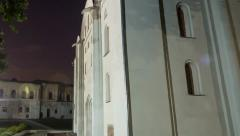 Ukraine Church in motion. Stock Footage