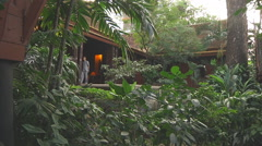 Jim Thompson House Museum in Bangkok, Thailand Stock Footage