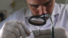 Gemstones professionally crafted Stock Footage