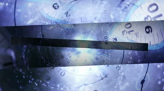 Time travel lines trans withalpha PS FR Stock Footage