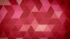Triangle Polygon Loop 06 Love - stock footage