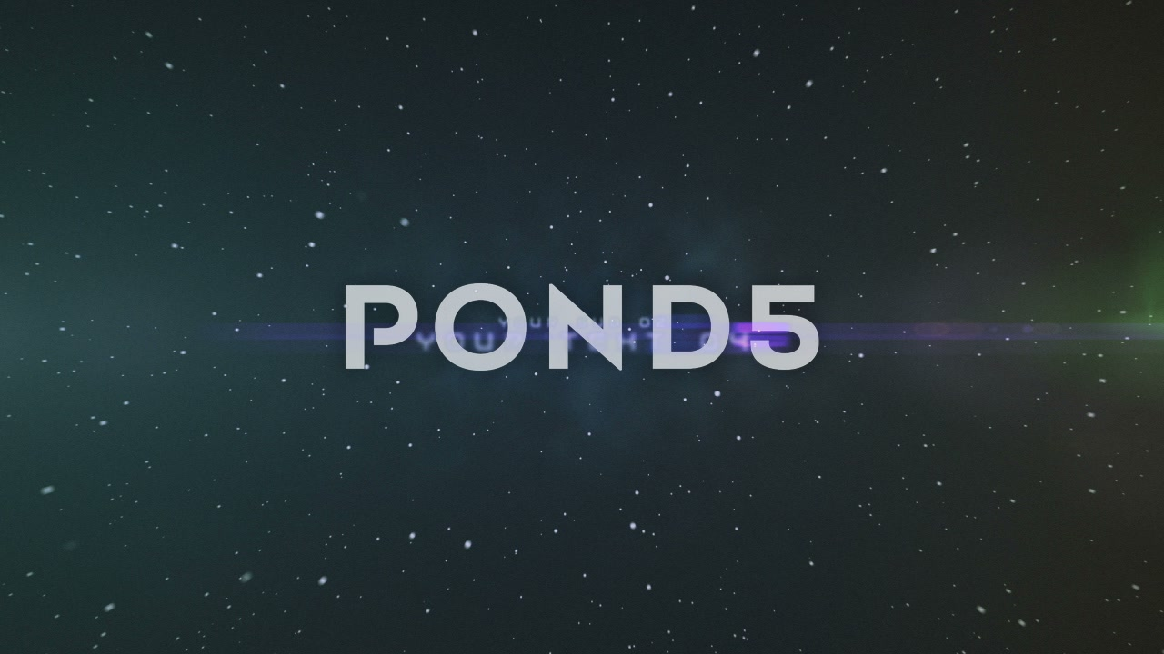 After Effects Project - Pond5 Space Titles 48467207
