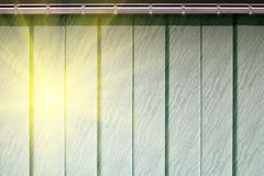 Blinds protect from the sun - stock photo