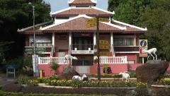 Melaka Tourist information centre, Malacca, Malaysia, zoom Stock Footage