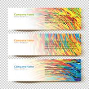 Stock Illustration of Abstract Web Banners