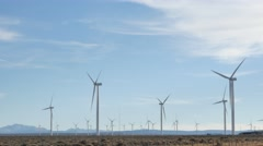 Wind Turbines 4k Stock Footage