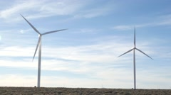 Wind Turbine 4k Stock Footage