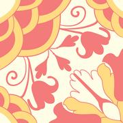 Seamless colourful ornament tiles Stock Illustration