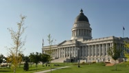 Stock Video Footage of Utah Capital Building