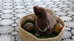 Preparing For Easter 17 Stock Footage